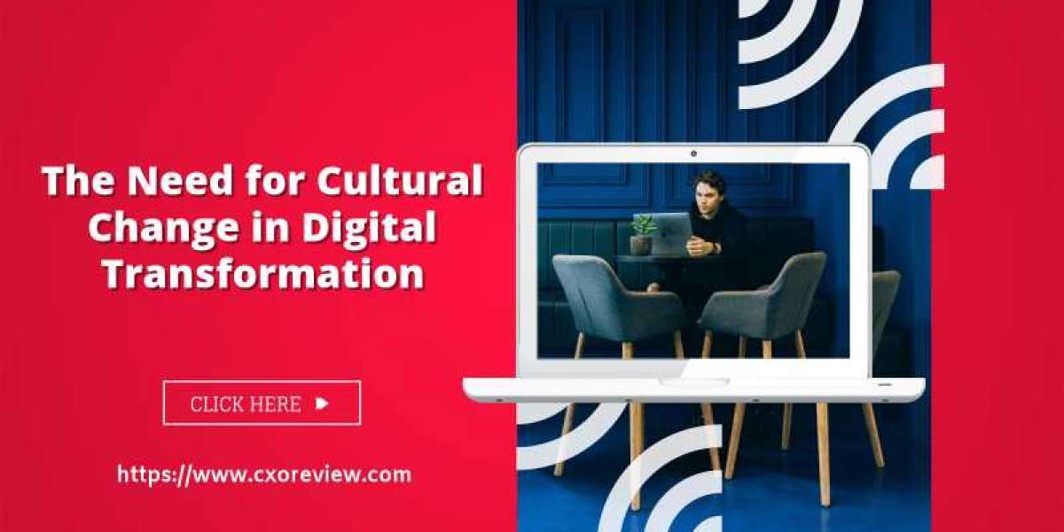 The Need for Cultural Change in Digital Transformation